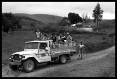 agricultural's bus ( Tatiana Cardeal) Tags: brazil bw film 2004 brasil photojournalism documentary tatianacardeal pernambuco invisibles brsil documentaire excellenceinaset monocultura documentario