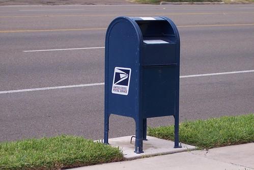 McAllen mailbox by Drpoulette
