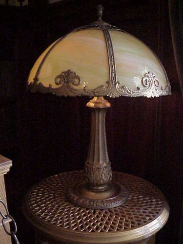 Another beautiful Tiffany lamp at Craigdarroch Castle