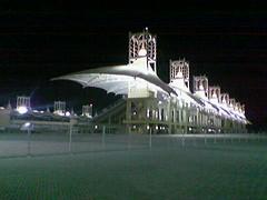 BIC Main Grand Stand at Night