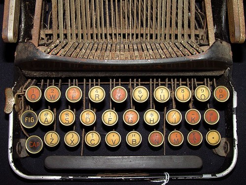 old typewriter by zen, on Flickr