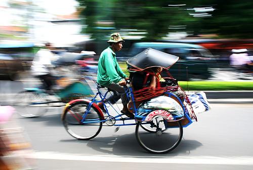 Transporte tradicional de Yogyakarta