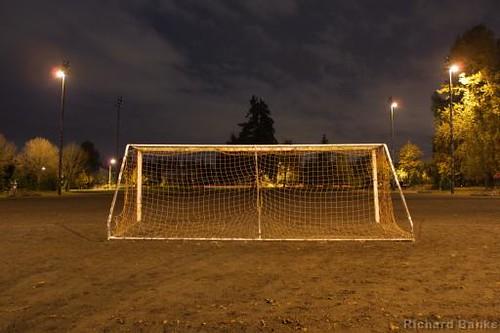 night football soccer net redmond wa