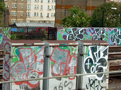 DSCF0204 (goatsquad) Tags: ntcrew graffiti tmcrew bombing beef dissed trains throwups oker dels neas dpm