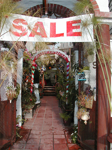 Dont go crazy over every holiday sale sign. Image from Flickr.