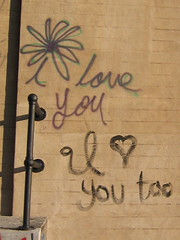 I  you too (finn) Tags: nyc highline graffiti iloveyou iloveyoutoo