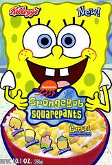 Sponge Bob eats