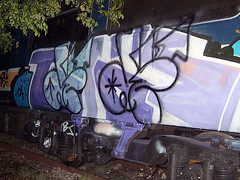 DSCF0278 (goatsquad) Tags: tm oker dels aroe nt graffiti trains wholecars panels throwups beef dissed graf