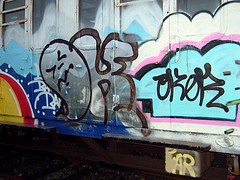 goat1 (goatsquad) Tags: tm oker graffiti graf dels aroe nt trains panels beef dissed throwups