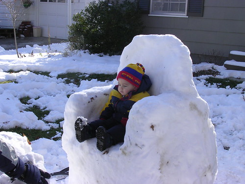 snow chair