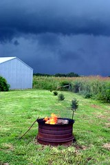 Storm coming? (rbanks) Tags: neosho mo firepit usa july4th clouds bestof2004
