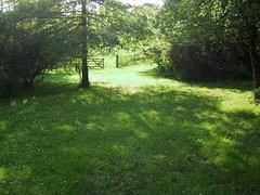 Prairie (Spigoo) Tags: color colour green nature colors grass rural landscape landscapes gate heaven colours peace belgium belgique gates vert prairie paysage paysages namur worthy topcropspigoo