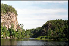 The 'Natch on the Petawawa River (Mark Demeny) Tags: film river pentax km petawawa pentaxkm