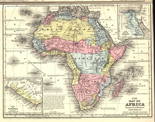 Africa map 1
