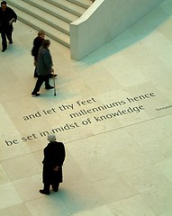 British Museum - Quote (rbanks) Tags: people london architecture britishmuseum