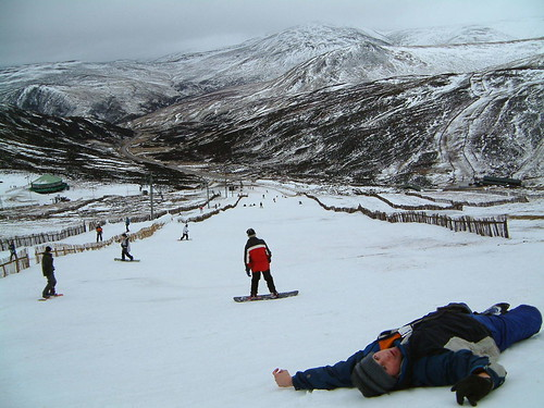 Snow sports in Scotland – taking the piste?