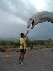 E.T. (Haldir) Tags: dinosaur peppe etnaland friend