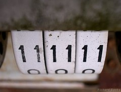111111 (rbanks) Tags: macro numbers 1111 bestof2004