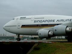 Boeing 747 SINGAPORE