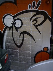 barcelona graffiti character