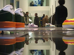 bathing ape shoes, soho by kenyee, on Flickr