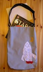 Rocket Bag (Lizette Greco + Grecolaborativo) Tags: california art bag handmade fabric enzo rocket bags bolsa greco lizette lizettegreco grecolaborativo