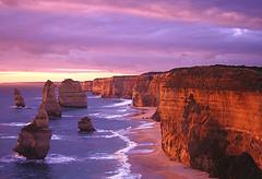 12 Apostles, Australia  -  At Sunset (jaxybelle) Tags: ocean australia victoria coastline 12apostles monoliths outstandingshots fcsetsrises abigfave nikonstunninggallery