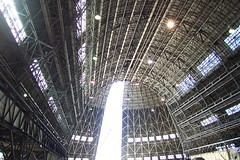 Hangar One Interior, Moffett Field, California (Telstar Logistics) Tags: interior hangar airship dirigible moffettfield hangarone