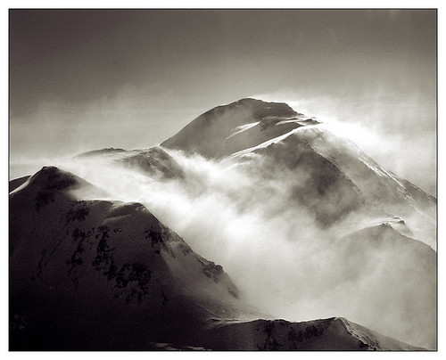 Windy Day on Denali / Phil Ackley