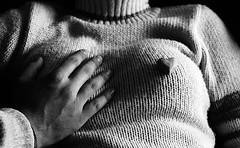 your touch (nocas) Tags: heart coração coeur bw
