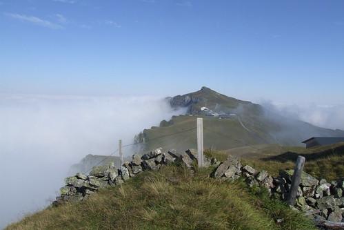 View towards Männlichen, 04.09.2012.
