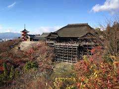 Kiyomizu-Dera Temple - Kyoto (-Faisal Aljunied-) Tags: worldheritage japan kyoto autumn pagoda temple kiyomizudera iphone7plus faisalaljunied