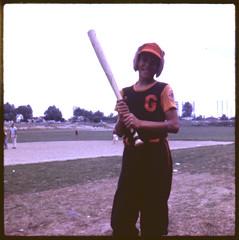 Pat, Bat (O Caritas) Tags: portrait people me baseball g bat peewee ocaritas goodshepherd ravinepark