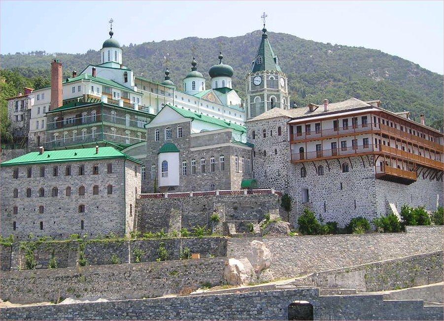 St Panteleimon's Monastery