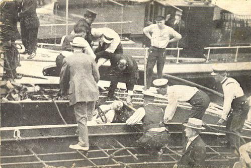 Capsized Steamer Eastland by baikinange.