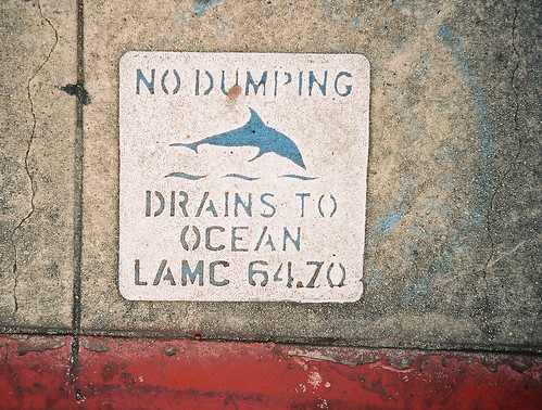 Keep this sewer Dolphin safe!