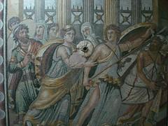 Achilles, the mosaic museum, Gaziantep (Kel Patolog) Tags: achilles mosaic ancient turkey gaziantep mural wall trkiye trkei trkorszg turquie romanandhellenicsitesinturkey zeugma