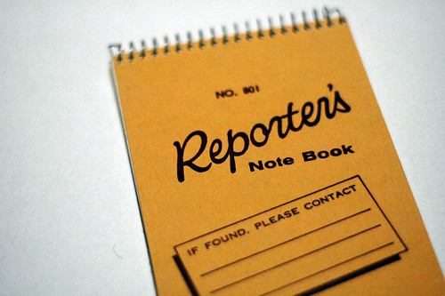 Reporter's Notebook, U.S. version