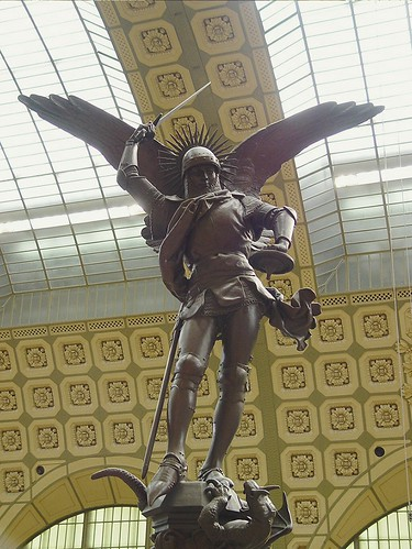 The Archangel Michael, Musee D'Orsay, Paris