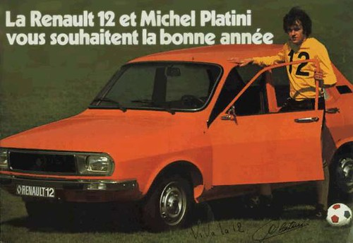 Michel Platini and Renault