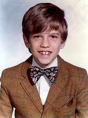 Yep...It's A Dork. (drp) Tags: schoolportrait me school jacket bowtie smile mychildhood