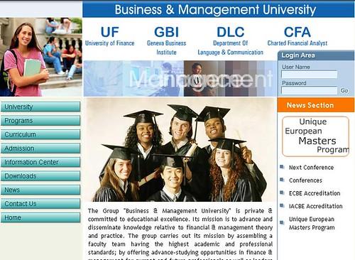 Business Management University Geneva Switzerland - BBA MBA Courses in Geneva Switzerland