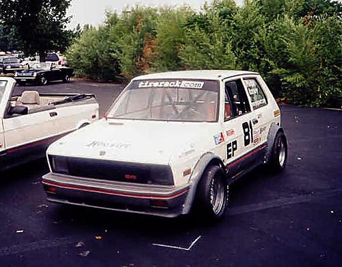 Yugo Race Car