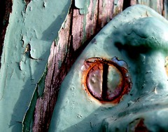 Paint and Rust (Auntie P) Tags: hinge wood urban abstract macro green topf25 metal geotagged rust peeling paint decay isleofwight flickrversary derelict iow newportiow geo:lat=506833 geo:lon=013000 auntieputatafeature challengeyouwinner mydoors