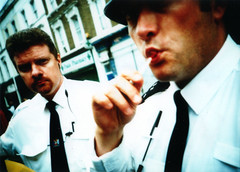 police man sucking lolly (lomokev) Tags: carnival portrait london topf25 lomo xpro crossprocessed xprocess police lomolca lolly sucking agfa busted jessops100asaslidefilm agfaprecisa nottinghill nottinghillcarnival agfaprecisa100 cruzando precisa jessopsslidefilm file:name=olympics2001403 work:tag=bhcctalk roll:name=olympics20014