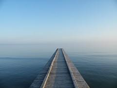Suspension (martinasirena) Tags: jesolo italy pier suspension nohorizon noperson atmosphere seascapes seascapeporn