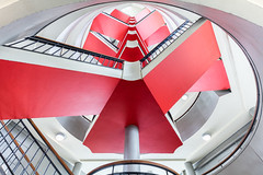 Hidden series | Red Triangles (James Kerwin Photographic) Tags: 5ds architecture art canon colour commercial design hidden images interiors lines norfolk norwich photography shape shapes spaces symmetry urban weddings