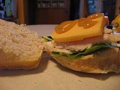 Turkey Sandwich (jemangelaville) Tags: turkey sandwich leftovers
