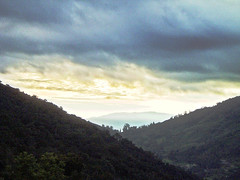 Sunrise over the valley (mysticalangel) Tags: travel sunrise malaysia pahang camerons