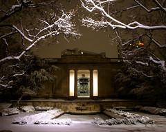 Rodin Museum (paul drzal) Tags: winter snow museum philly rodin rodinmuseum gridskipperweeklynominee gridskipperweeklywinner
